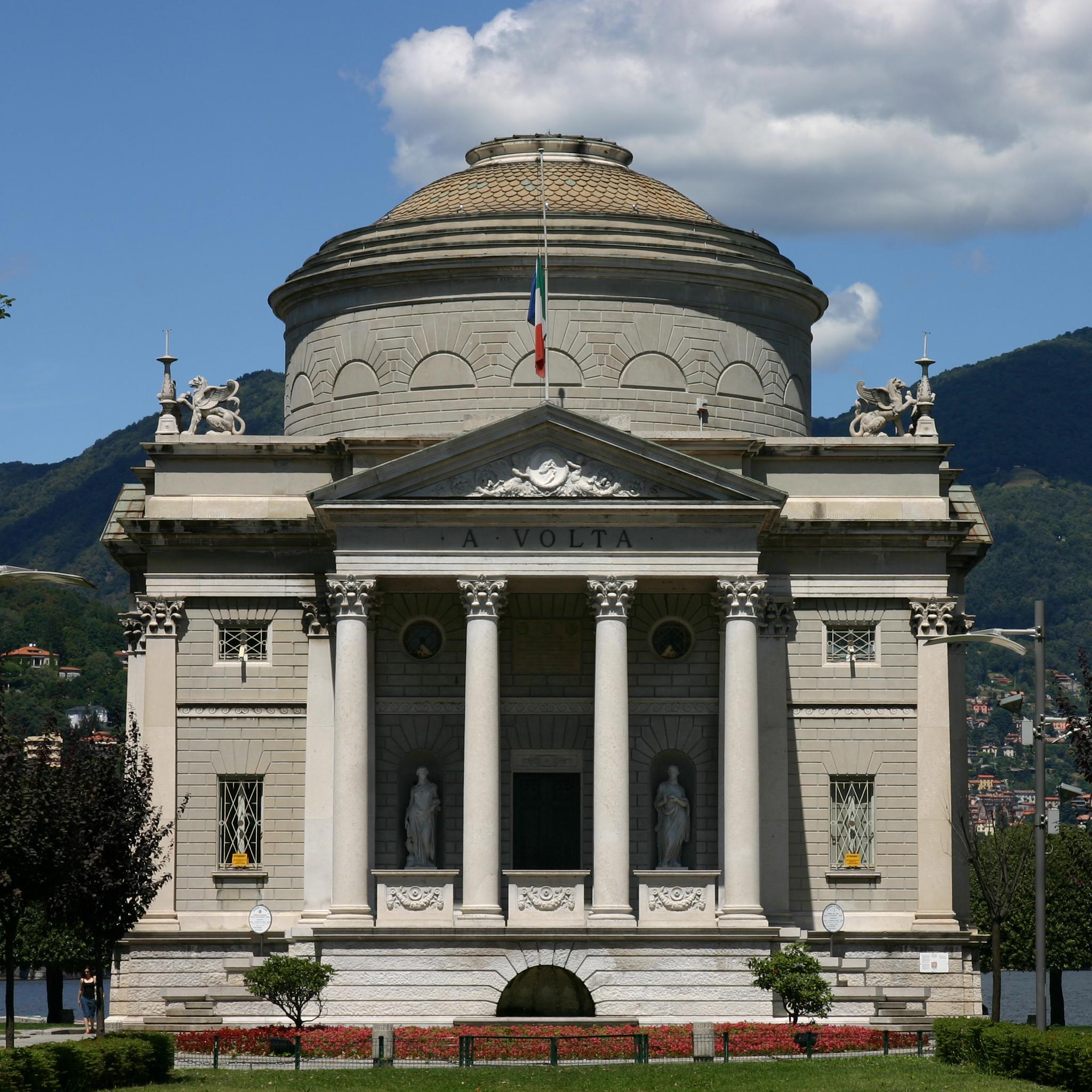 Artisti al Tempio Voltiano