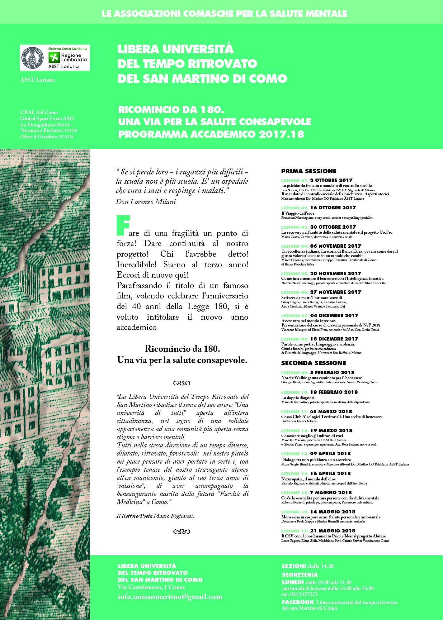 Mens Sana In Corpore Sano Salute Personale E Ambientale Como Italia