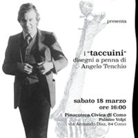 """I """"taccuini"""". Disegni a penna di Angelo Tenchio"""