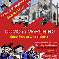 COMO in MARCHING