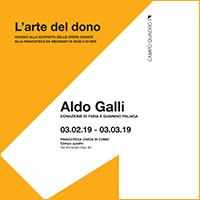 Aldo Galli, donazione di Fabia e Giannino Paliaga