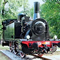 851 186 la locomotiva dei giardinetti di Como