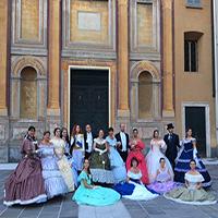 Danze storiche in Piazza Grimoldi
